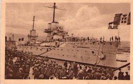 FIUME  , Croazia , Giugno 1919  , Nave  Dante Alighieri , Francobollo  Posta Di Fiume    * - Croazia