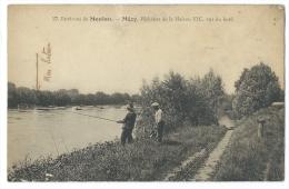 MEZY (Yvelines) Environs De Meulan - Pêcheurs De La Maison VIC, Vus Du Bord - Meulan