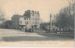 13 ... AIX EN PROVENCE   Place Bellegarde, Fontaine Granet  Edit Jaussaud N° 202 - Aix En Provence