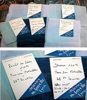 5 échantillons De Soie De La Soierie M.FAYOLLE à LYON_L10 - Laces & Cloth