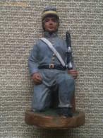 Soldadito De Plomo. Soldado De Infantería. El Sur. Estados Confederados De América. Guerra De Secesión. 1861-1865 - Militares