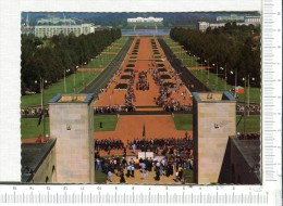 CANBERRA  -  Australia's National Capital - Anzac Parade From The Australian War Memorial - Canberra (ACT)