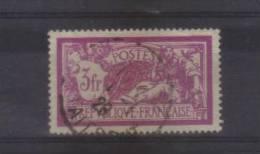 Type Merson N ° 240 3f Lilas Et Carmin  Oblitéré - 1900-27 Merson