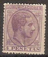 España 0198 * Alfonso XII. 1878. Charnela. - Unused Stamps