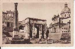Roma - Arco Di Settimio Severo Con La Colonna Di Foca - Formato Piccolo - Non Viaggiata - Roma
