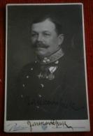 Vintage Hard Photo Austria Soldiers JANKOVIC Autograph 1913. - Size: 6,8X 10,5cm - C. Pietzner, Wien - Fotos Dedicadas