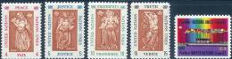 UNO New York 1967 MNH Stamp(s) Expo 180-184 #3857 - New York – UN Headquarters