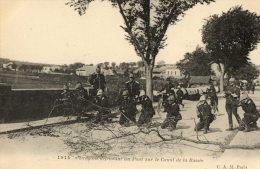 CANAL DE LA BASSEE (59) Guerre 1914-18 Défense D'un Pont Par Les Dragons - Ohne Zuordnung