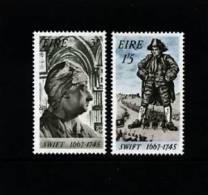 IRELAND/EIRE - 1967  JONATHAN  SWIFT  SET MINT NH - 1949-... Repubblica D'Irlanda
