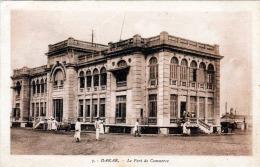 DAKAR (Senegal), Le Port De Commerc, Karte Gel.1937, 40C Sondermarke, Gute Erhaltung - Senegal