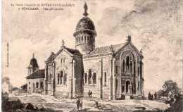 Cpa 1915, RONCHAMP, Future Chapelle De ND Du Haut, Vue Perspective    (27.32) - France