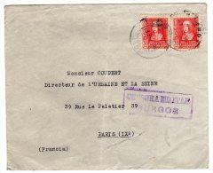"ESPAGNE - LETTRE Avec Censure Militaire "" BURGOS"" - 1931-50 Brieven"