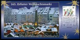 72188) BRD - SoST-Karte - 99084 ERFURT Vom 26.11.2013 - 13. Erfurter Weihnachtsmarkt E.B: Auflage 1.500 - Poststempel - Freistempel