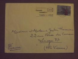 Enveloppe Suisse Congrès Des Suisse à L'étranger - Marcophilie