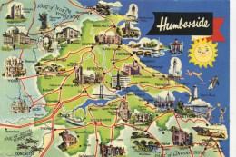 MAP - DENNIS - HUMBERSIDE H.1001.L - Landkaarten