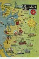MAP - DENNIS - LANCASHIRE L.3601.L - Maps