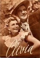 IFK 1999 Clivia 1954 Operette Nico Dostal Claude Farell Peter Pasetti Dahlke Filmprogramm Programm Movie - Zeitschriften