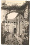 82 - MONTPEZAT-de-QUERCY - Porte Saint-Roch ++++++ Vers Paris, 1921 +++ - Montpezat De Quercy