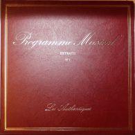 Les Authentiques - Programme Musical Extraits N° 1 Berlioz, Ravel,Tchaikovsky, Beethoven, Vivaldi, Mozart, Haendel, Bach - Klassik