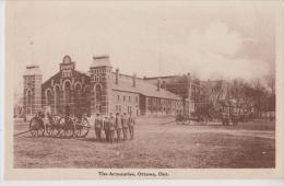 CANADA ONTARIO OTTAWA THE ARMOURIES MILITAIRES BELLE CARTE RARE !!! - Ottawa