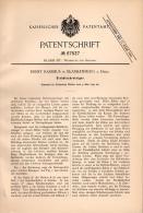 Original Patentschrift - Ernst Rassmus In Blankenburg A. Harz , 1892 , Siebblechreiniger , Metallbau , Werkzeug !!! - Historische Dokumente