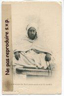 - 41 - Si Mohamed Bel HADJ, Grand Marabout De EL-HAMEL, Bou Saada, Peu Courante, Non écrite, TBE, Scans. - Hommes