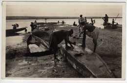 A.O.F. - Soudan - Preparation D'une Pirogue - 1939 - Soudan
