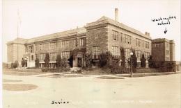 Lot De 3 CPA Washington High School & Junior High School, Chisolm Minnesota - Etats-Unis