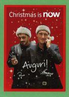 # TOTTI & GATTUSO, Milan-Roma Postcard, Christmas Is Now By Vodafone - Soccer