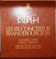 Jean-Sébastien Bach - Les Six Concertos Brandebourgeois (2 Disques) - Orchestre Jean-François Paillard - Classique