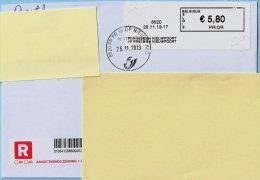 Blaster - 8620 PP PRESS SH NIEUWPOORT Op Aanget. Zending - Vignettes D'affranchissement