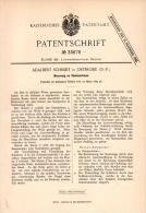 Original Patentschrift - Adalbert Schmidt In Osterode / Ostróda I. Ostpreussen , 1885 , Saatmaschine , Agrar !!! - Maschinen