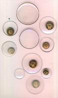 Lot De 10 Verres De Montre Gousset  Diamètre Différents  TBE - Watches: Bracket