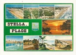 Cp, 62, Stella-Plage, Multi-Vues, Voyagée 1986 - Autres Communes