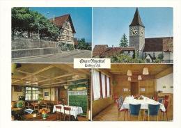 Cp, Suisse, Oberer Monchhof, Multi-Vues, Voyagée 1971 - ZH Zurich