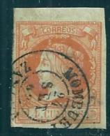 Spain 1860 4 Cu. Zamora Monbuey Used - Used Stamps