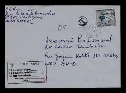 Portugal Tax T Multa Cover Covers 1995 MONTE DA CAPARICA Discoveries Gc1662 - Port Dû (Taxe)
