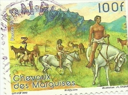 1008 Faune   Beau Cachet   (249) - French Polynesia