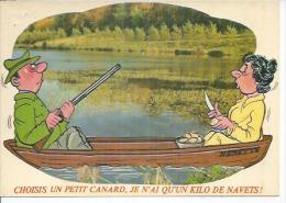 844-5 - CHOISIS UN PETIT CANARD, JE N´AI QU´UN KILO DE NAVETS ! - ALEXANDRE - ( CHASSE ) - Alexandre