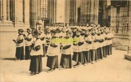 44 Nantes, La Maîtrise De La Cathédrale, Carte De Voeux De L'Abbé Portier, Noël 1928, Beau Document - Nantes