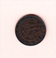 NETHERLANDS EAST INDIES KM 306 1902 1/2 Ct.  (4JP19) - Indes Néerlandaises
