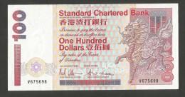 [NC] HONG KONG - STANDARD CHARTERED BANK - 100 DOLLARS (1993) - Hong Kong