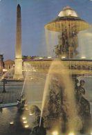 Cp , 75 , PARIS ,  Place De La Concorde , L'Obélisque De Louksor - Piazze