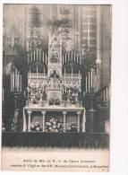 17165 Autel De Mai De N.D. Du Chant D'oseaux Veneree D'eglise Des FF Mineurs Conventueles à Bruxelles - Monuments, édifices