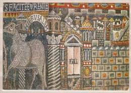 Roma , Basilica Di S. Clemente , Mosaico Dell Abside , La Citta Di Gerusalemme - Chiese E Cattedrali