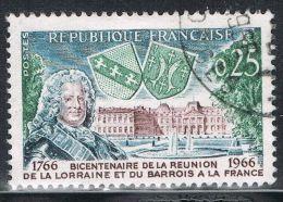 FRANCE : N° 1483 Oblitéré (Intégration De La Lorraine Et Du Barrois) - PRIX FIXE - - Frankreich