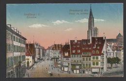 DF / 67 BAS RHIN / STRASBOURG / PLACE DU CORBEAU / CIRCULÉE EN 1919 - Strasbourg