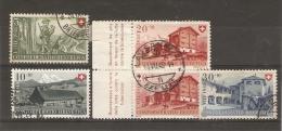 SWITZERLAND - 1948 NATIONAL FETE GROUP USED - Switzerland