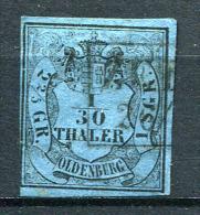 16849) OLDENBURG # 2 Gestempelt Aus 1852, 35.- € - Oldenburg