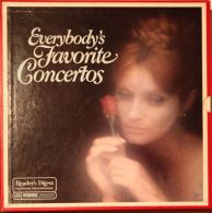 Everybody´s Favorite Concertos - Coffret 6 Disques: Beethoven, Tchaikovsky, Saint-Saens, Gershwin, Brahms, Schumann... - Classical